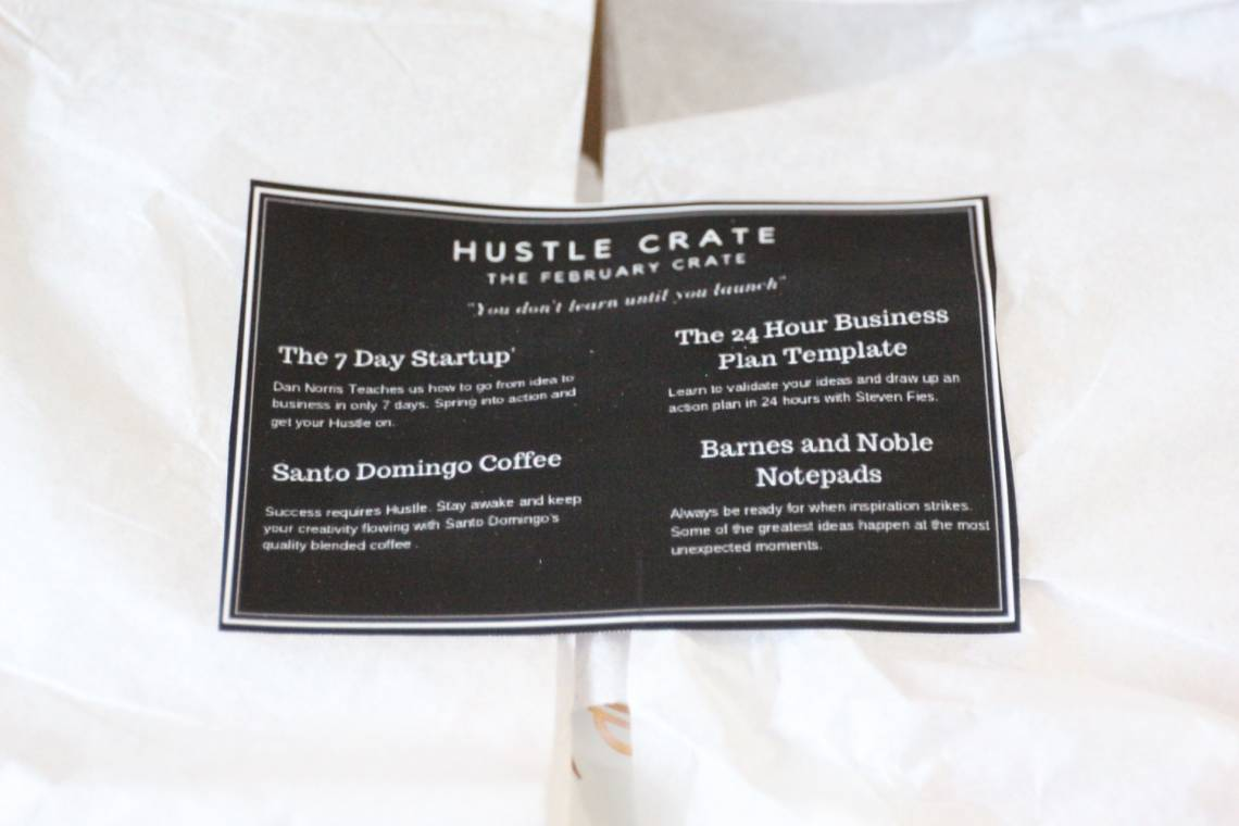 Hustle Crate February 2016 1