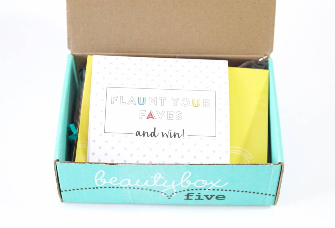 Beauty Box 5 Review July 2016 2