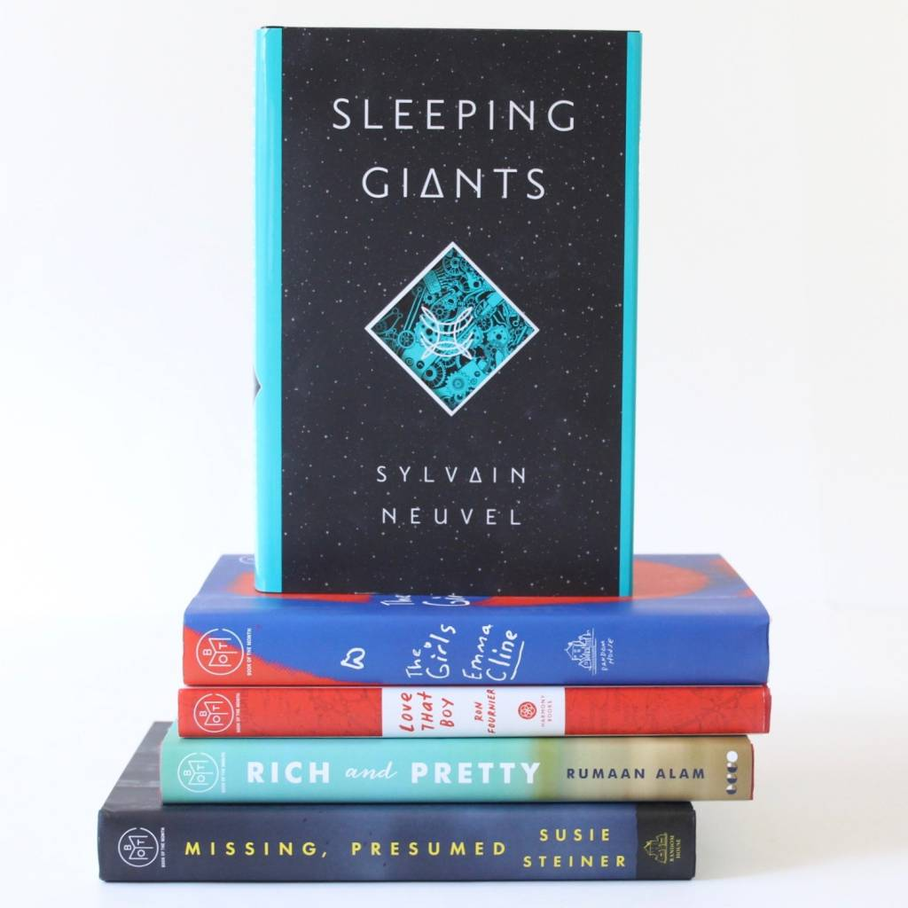 July Book of the Month Selections 2