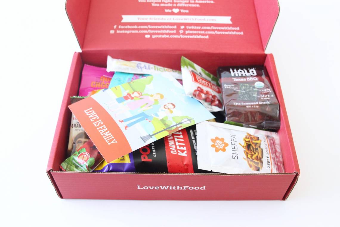 Love Woth Food Deluxe Box Review August 2016 2